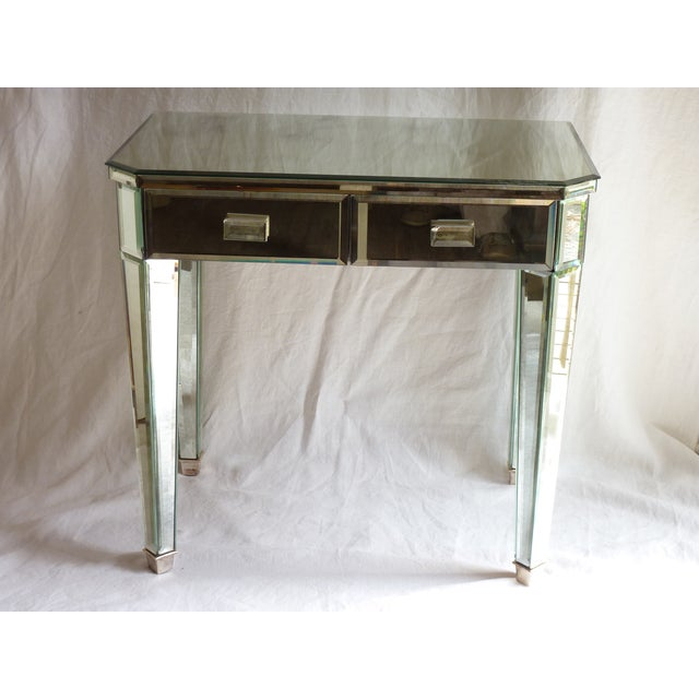 Mirrored Side Tables - A Pair - Image 4 of 10