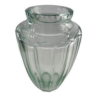 Daum Nancy Cross of Lorraine French Art Deco Vase. For Sale
