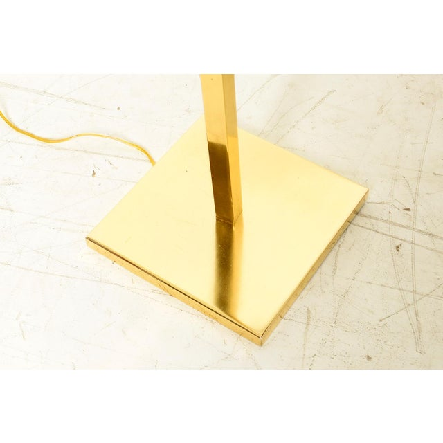 Metal Brass Koch & Lowy Floor Lamps - a Pair For Sale - Image 7 of 7