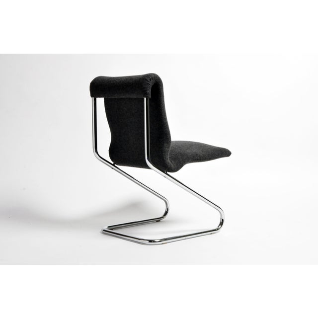 Vintage French Modern Cantilever Chairs - a Pair For Sale In Chicago - Image 6 of 13