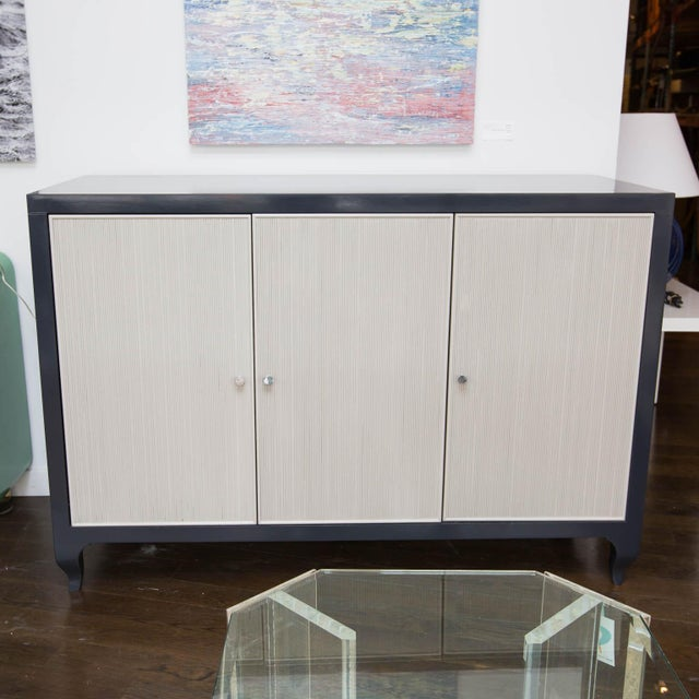 Lacquered Baker Media Cabinet For Sale - Image 11 of 11
