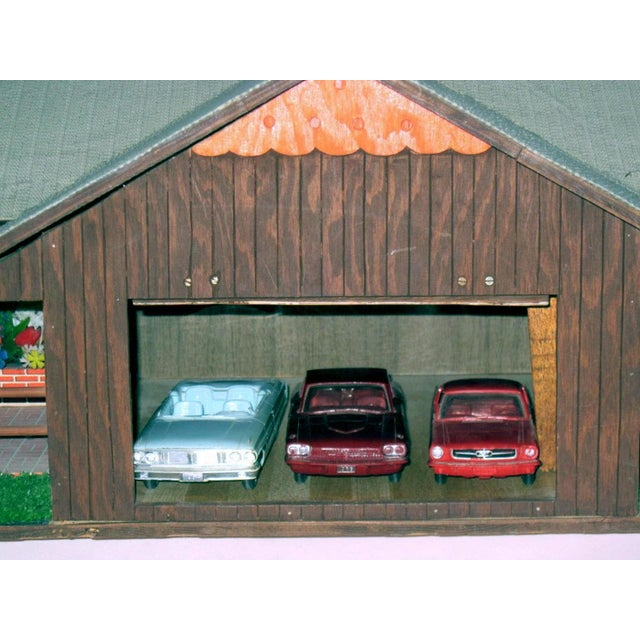 Wood C.1970s Ranch Style Dollhouse For Sale - Image 7 of 11