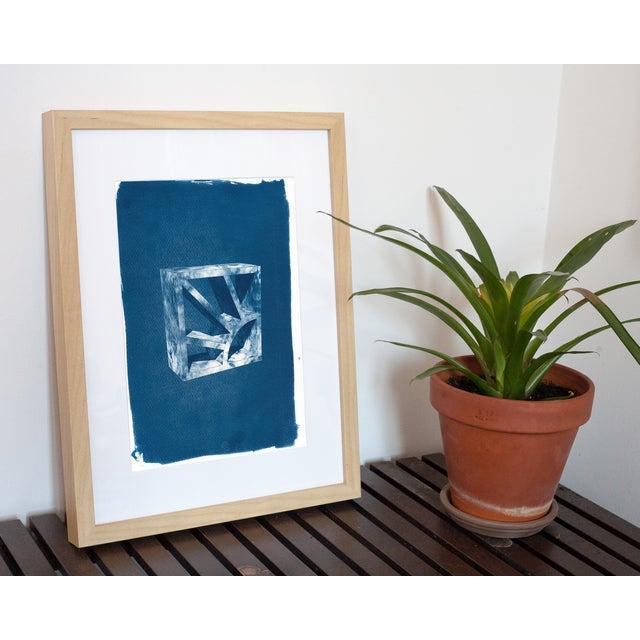 Cyanotype Print 3D Screen Block - Image 4 of 4