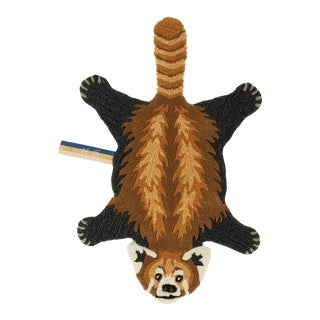 Doing Goods Perky Panda Rug Small For Sale