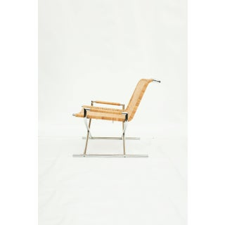 Ward Bennett Wicker Sled Lounge Chair for Brickel Associates Preview
