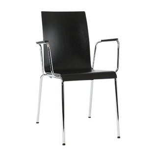 Dietiker Polo L Armchair - (Design 2007) - Ergonomic Stacking Chair For Sale