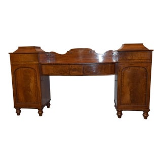 Early 19th-Century English Georgian Sideboard For Sale
