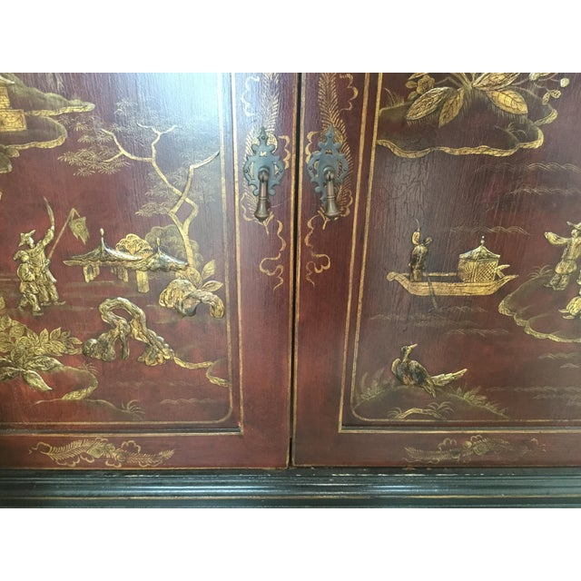 Chinoiserie Cabinet For Sale - Image 11 of 12