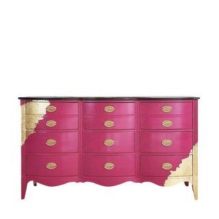 Gilded Triple Dresser For Sale