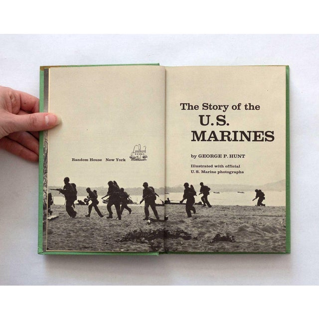 1950s 1950s Traditional Vintage US Marines Army History Book For Sale - Image 5 of 13