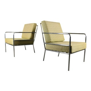 Set of Brown Jordan Mid Century Lounge Chairs, Usa For Sale