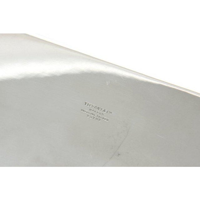 Mid-Century Modern Tiffany Sterling Shell & Dolphin Box For Sale - Image 9 of 10
