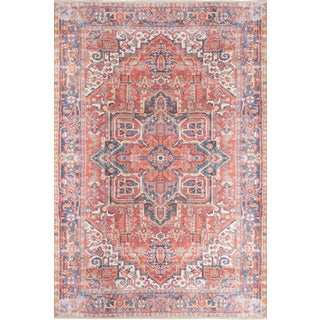 "Momeni Chandler Zara Red 7'6"" X 9'6"" Area Rug For Sale"
