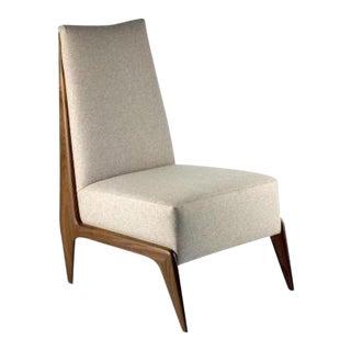 Studio Van den Akker Frederique Slipper Chair For Sale