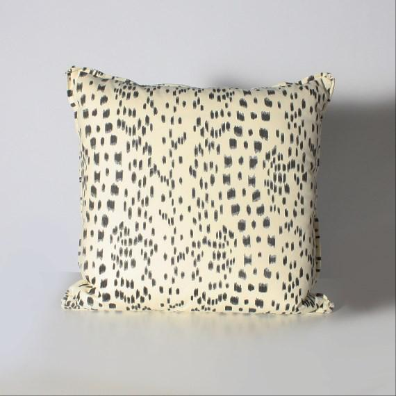 Mid-Century Modern Pair of Brunschwig & Fils Les Touches Pillows For Sale - Image 3 of 3