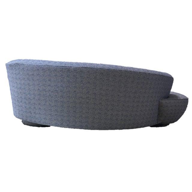Contemporary Vladamir Kagan Original Design Kidney Sofa For Sale - Image 3 of 6