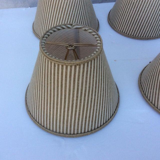 Custom Chandelier Bulb Shades - Set of 6 For Sale - Image 4 of 8