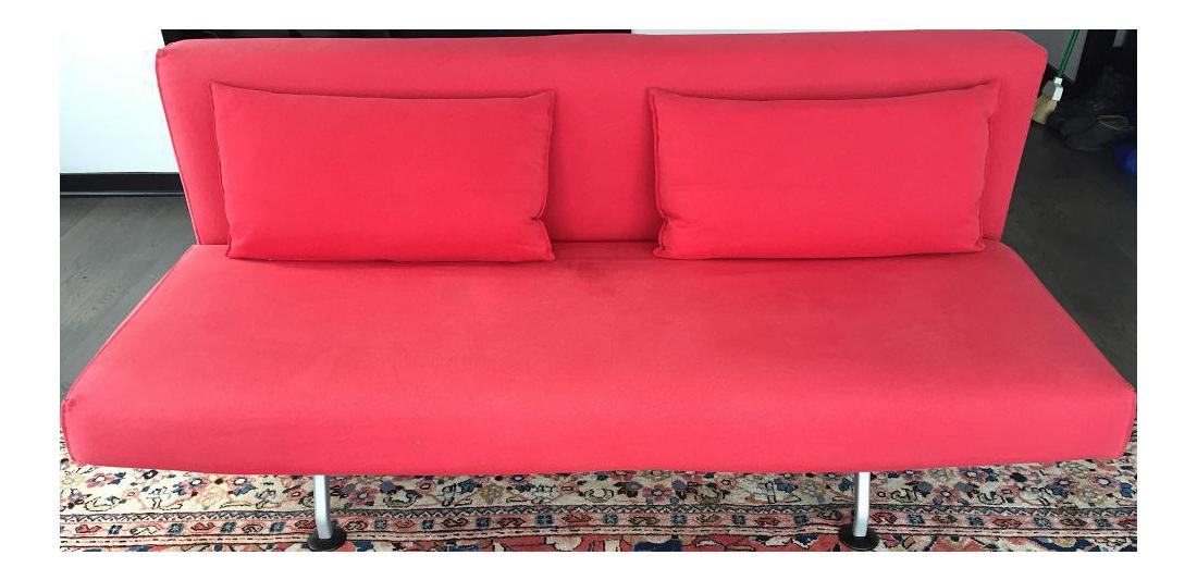 Eames Design Within Reach Sliding Sofa   Image 1 Of 11