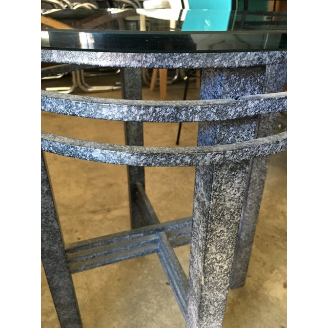 1980s 1980s Post Modern Sculptural Side Table For Sale - Image 5 of 11