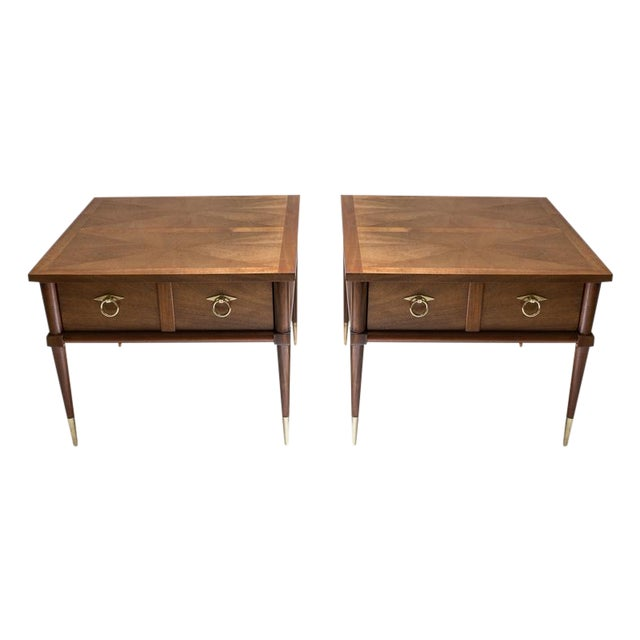 American of Martinsville Side Tables - A Pair - Image 1 of 8