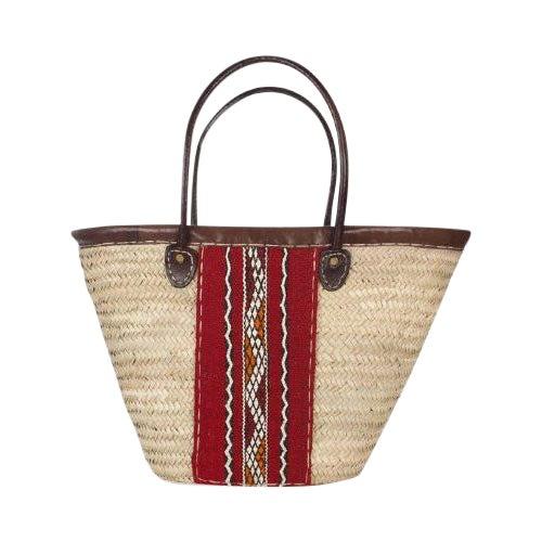 Berber Woven Market Basket For Sale