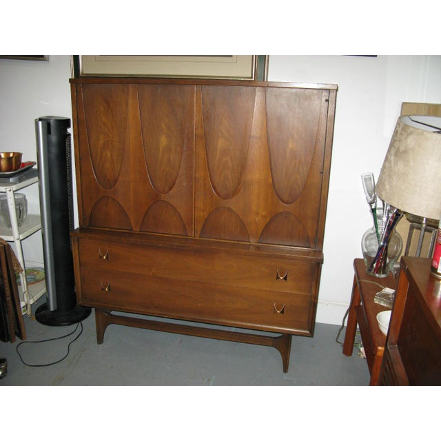 Broyhill Brasilia Highboy Dresser - Image 6 of 11