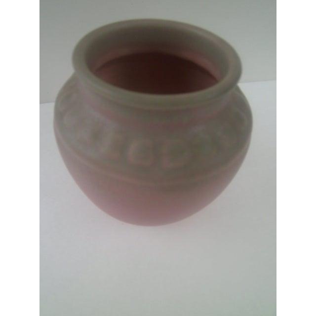 Rookwood Art Pottery Vase - Rose & Green 1935 - Image 2 of 7