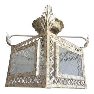 Italian Florentine Flush Light For Sale
