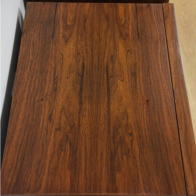 American of Martinsville Walnut Nightstands- a Pair - Image 7 of 8