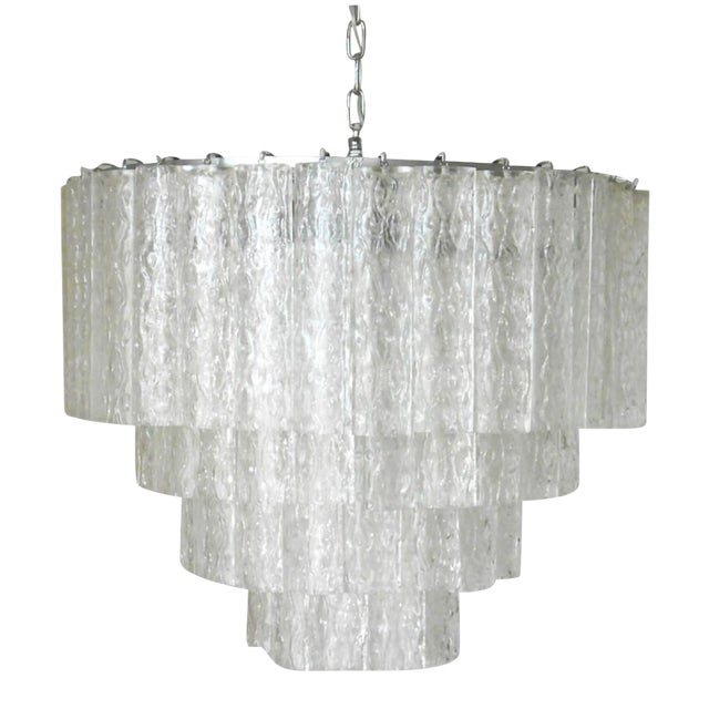 Ovalini Chandelier by Venini For Sale