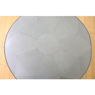 Genuine Round Leather Ottoman/Coffee Table Preview