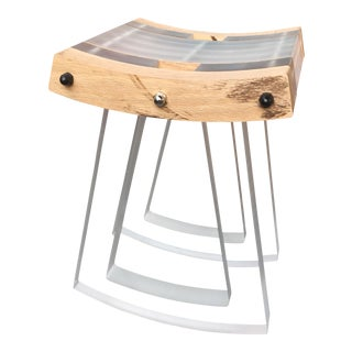 Acrylic Rocking Stool