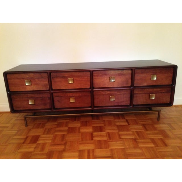 Crate and Barrel Zander 8-drawer dresser. Barely used - perfect condition. Currently selling at store for $2,300. Acacia...