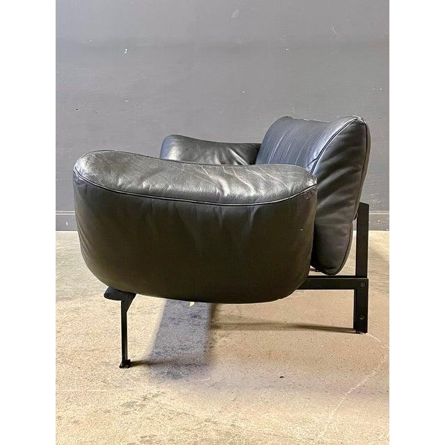 1980s De Sede Leather Sofa For Sale - Image 5 of 12