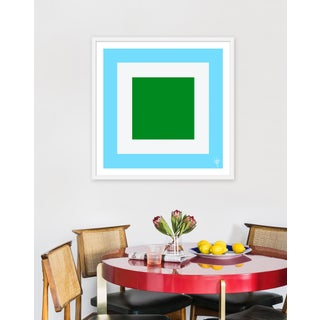 """Medium """"Squared V"""" Print by Wendy Concannon, 31"""" X 31"""" Preview"""