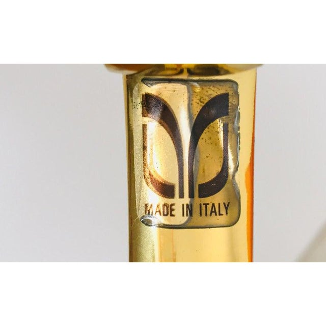 Italian Polished Brass Valet Stand, 1970 For Sale - Image 4 of 13