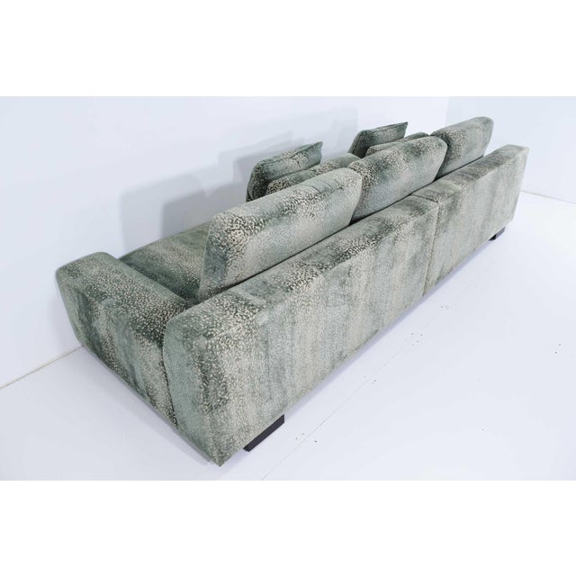 Textile Christian Liaigre Augustin Sofa For Sale - Image 7 of 13