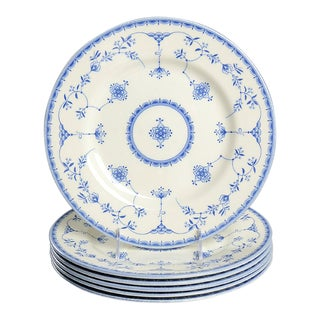 Queen's Ingrid Dinner Plate - Set of 6 For Sale