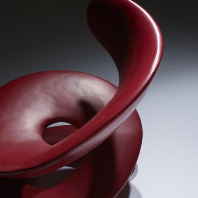 Louis Durot L'Aspirale Polyurethane Chair c. 1970 - Image 2 of 3