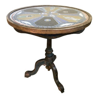 18th Century Painted Byzantine Design Gueridon Table