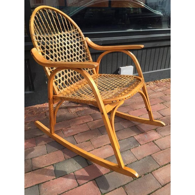 Vermont Tubbs Adirondack Rocking Chair Image 2 Of 3
