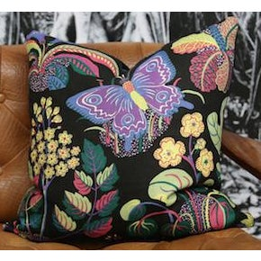 Josef Frank Exotic Butterfly Cushion Preview