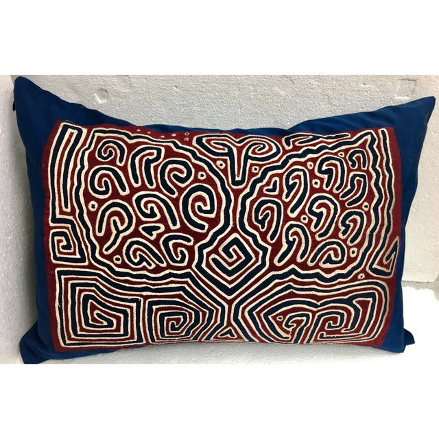 Quilted Mola Clouds Pillow - Image 2 of 5