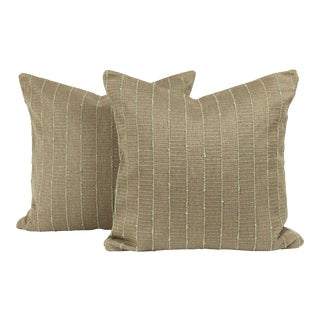 Mid-Century Modern Throw Pillow Cover (Pair) For Sale