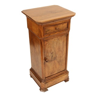 Louis Philippe Walnut Occasional Cabinet For Sale