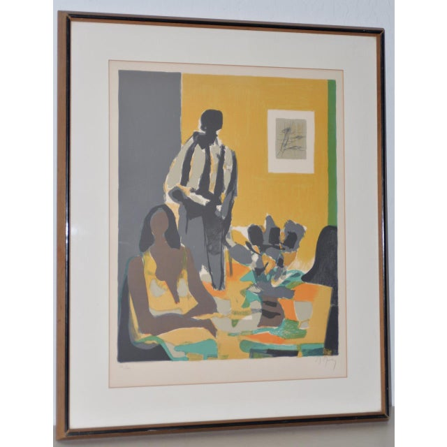 Marcel Mouly (French, 1918-2008) Vintage Lithograph Signed / Numbered C.1980s For Sale - Image 10 of 10