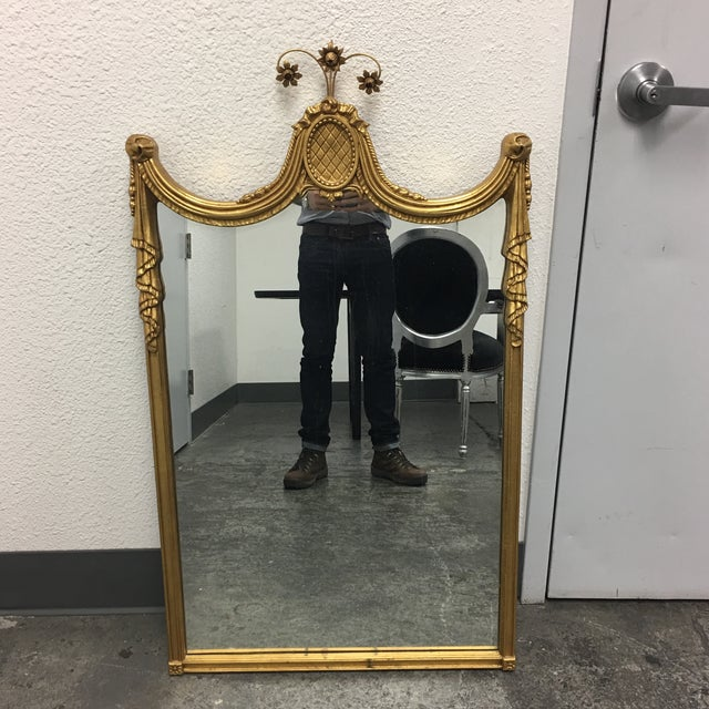 Gilded Empire Style Wall Mirror - Image 2 of 6