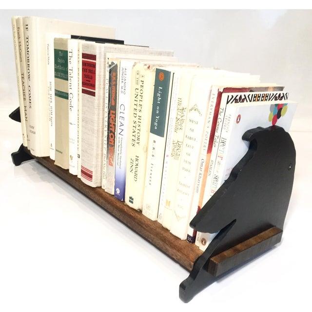 Dog Profile Wood & Metal Bookshelf - Image 2 of 5
