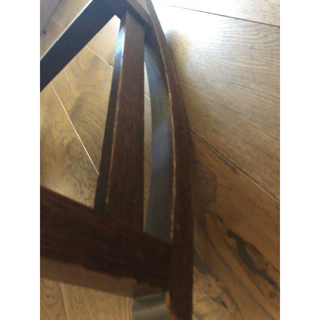 1930s Vintage Mission Style Rocking Chair For Sale - Image 9 of 10