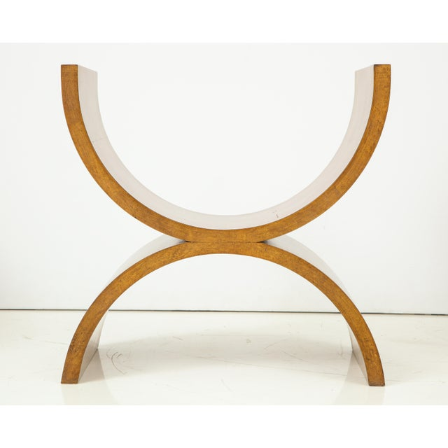 Curule Benches by Jay Spectre (Set of 4) For Sale - Image 11 of 13